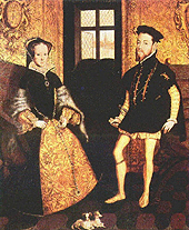 Mary I and Phillip II of Spain