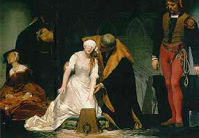 Lady Jane's execution