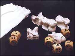 Knucklebone/dice set $23.95 pair