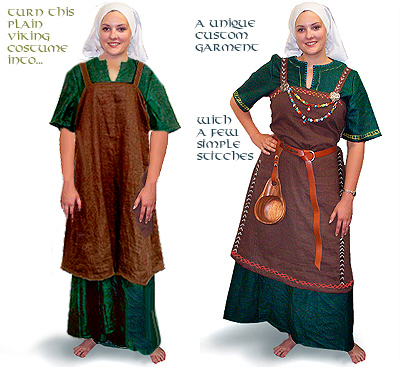 Viking Answer Lady Webpage - Clothing in the Viking Age