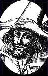 engraving of Guy Fawkes