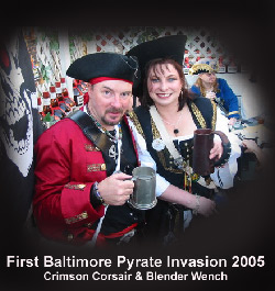 Pirate Invasion in Baltimore