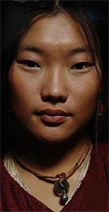 Mongolian beauty